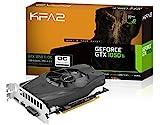 KFA2 50IQH8DSN8OK GeForce GTX 1050 Ti OC PCI-E Gaming-Grafikkarte, 4GB GDDR5, schwarz