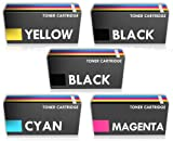 Prestige Cartridge CRG731 Tonerkartuschen für Canon i-Sensys LBP-7100cn/LBP-7110cw/MF-8280cw, 5-er Multipack, farbig sortiert