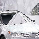 Auto-LKW SUV Windschutzscheibe Frontscheibe Abdeckung Schnee Eis Schutz Sonnenschutz Winter-Wetter (215 * 125CM)