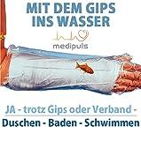 AQUASTOP - Unterarm, Erwachsene (54 cm) - wiederverwendbarer wasserdichter Überzug für Verband und Gips┇Reusable watertight, bandage and cast cover