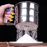 Lanlan Hohe Qualität Manuelle Mesh Mehl Zucker Pulver Edelstahl Hand Mehlsieb Sieb Cup Backen-Werkzeug Best Seller