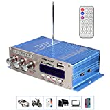 Auto Verstärker, MENGGOOD Mini Hifi-Verstärker Endstufe Bluetooth Stereo Digital Booster...