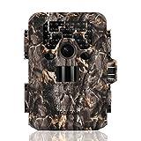 TEC.BEAN Wildkamera Jagdkamera, 12MP 1080P Full HD Keine Glow Infrarot Wildlife Kamera mit Nachtsicht bis zu 23M / 75ft, 36pcs 940nm IR LEDs und IP66 Wasserdichte Überwachung Trail Cam (DTC-880V)