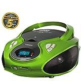 Lauson CD-Player | Tragbares Stereo Radio | Kinder Radio | Stereo Radio | Stereoanlage | USB | CD /...