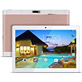 Kivors 9,6 Zoll Android Tablet PC,Quad Core Prozessor Phablet 1G RAM 16G Speicher Dual Kamera 0.3MP/3MP 1280x800 IPS Touchscreen Dual-SIM Slots 3G Entsperrt Telefonfunktion WiFi Bluetooth 4,0 GPS