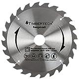 Timbertech Sägeblatt (Ø/H): ca. 210/2,5 mm) ideal geeignet für die Kapp- und Gehrungssäge KPSG01 aus robuster Stahlregierung mit präziser und kraftvoller Arbeitsweise als Ersatzteil oder auf Vorrat