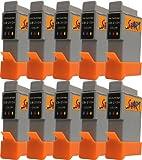 Start - 10 Ersatz Patronen kompatibel zu BCI-21 / BCI-24, Colour für Canon Pixma iP1000, iP1500, iP2000, MP110, MP130, MP390, i250, i255, i320, i350, i355, i450, i455, i470D, i475D, Smartbase MP360, MP370, MP375R, MP390, MPC190, MPC200, Pixus 320i, 455i, 475PD, MP10, MP360, MP370, MP375R, MP390, MP5, imageClass MPC190, MPC200, S200, S210, S300, S330, S330 Photo, Multipass F20, MP360, MP370