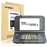 [6 Stück] Nintendo New 3DS XL Displayschutzfolie Schutzfolie, iVoler HD-Kristall Displayschutz für Nintendo New 3DS XL Folie Schutzfolie Displayfolie - [Kratzfest] [Hohe Transparenz] [Fingerabdruck-frei] [Blasenfrei] - Lebenslange Garantie