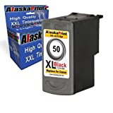 1x Tintenpatrone Ersatz für Canon PG-50 XL Schwarz Black BK für Canon PIXMA MP140 MP450 MP190 MP210 MP220 MP470 MP460 IP2500 IP1800 IP1900 MX300 IP2600 IP1600 IP2200 IP1700 IP2580 MP160 MP450 X MX310 MP180 MP150 MP170 IP1200 IP1300 Fax JX200 JX210 P JX500 JX510 P JX210 P