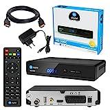 Kabel Receiver DVB-C SET: HB DIGITAL HD 350C DVB-C Receiver für Kabelfernsehen + HDMI Kabel mit...