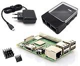 Raspberry Pi 3 Modell B+ - Light Starterkit - Bestehend aus: Neustem 2018 Raspberry Pi 3 Model B+,...