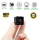 Mini kamera, Eternal eye FULL HD 1080P 12MP tragbare versteckte Spionage-Kamera mit Nachtsicht,...