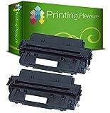 PRINTING PLEASURE 2 Toner kompatibel für HP Laserjet 2100, 2100 M, 2100 SE, 2100 TN, 2100 XI, 2200, 2200 D, 2200 DN, 2200 DSE, 2200 DT, 2200 DTN, 2200 N, Canon LBP-470, LBP-1000, LBP-1310, LBP-P100 / C4096A / 96A / EP-32 Schwarz / Black