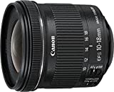 Canon 10-18 mm / F 4.5-5.6 EF-S IS STM 10 mm Objektiv ( Canon EF / EF-S-Anschluss,true )
