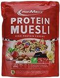 IronMaxx Protein Müsli Banane / Veganes Fitness Müsli laktosefrei und glutenfrei / Eiweiß Müsli mit Bananengeschmack / 1 x 2 kg