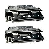 2 Toner für Canon EP52 LBP 1750 1760 I-Sensys LBP 1760 E 1700 Series Lasershit LBO 1760 E N - 3839A003 - Schwarz je 10.000 Seiten