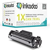 Inkadoo Toner kompatibel für Canon I-Sensys LBP-2900, I-Sensys LBP-3000, Lasershot LBP-2900, Lasershot LBP-3000, LBP-2900, LBP-3000 ersetzt Canon 703 - Premium Drucker-Kartusche – Schwarz XL – 3.000 Seiten