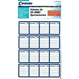 Conrad Etiketten SD MMC Karte 20 x 25mm 48St