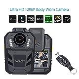 Tragbare Body Camera GPS-Audio-und Videokamera Rekorder IR Night Vision HD1296P Wireless Wearable Camera LCD Display 32GB Speicher