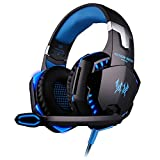 Gaming Headset, TopDiscover EACH G2000 Over Ear Gaming Kopfh?rer Surround Sound Stereo Gamer...