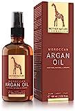 Marokkanisches Bio Arganöl - Mother Nature - FREI VON Parabenen, Silikonen, Parfümen, PEGs, Hormonen - 100 ml - organisches Argan Öl - Arganöl kaltgepresst für Haut, Gesicht, Haare und Nägel