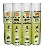 8 Flaschen Insektenspray von BRAECO gegen Fliegen, Mücken und Motten, Mückenspray, Insektenabwehr
