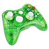Prous Xbox 360 Controller XW21 Wireless PC Gamepad LED Controller Transparent Joystick für Xbox...