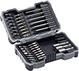 Bosch Professional Bohrer- und Schrauberbit-Set (43-teilig, Materialien aller Art, Steckschlüssel für Sechskantschrauben 6/8/10 mm)