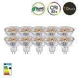 GVOREE MR16 GU5.3 LED Lampen Lampe Natur Tageslicht Weiß AC DC 12 V 5 Watt Ersetzen 50 Watt...