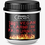 100% Vegan L-Carnitin Fatburner, 400 Kapseln, für Veganer geeignet, hochdosiert - 2000mg Tagesdosierung, 100% deutsche Qualität / Herstellung, beste Diät / Fettverbrennung