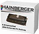 Hainberger Toner ersetzt Canon E-30 (OEM-Nr.1491A003)passend zu folgenden Geräten: FC100 FC120 FC204 FC210 FC220 FC230 FC310 FC330 FC336 FC530
