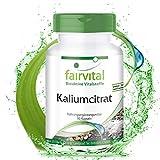 Kaliumcitrat - HOCHDOSIERT - VEGAN - 90 Kapseln - 300mg Kalium pro Kapsel