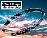 Filter UV slim 52, 55, 58, 62, 67, 72, 77, 82mm XMC Digital Weil Design Germany - SYOOP - *...
