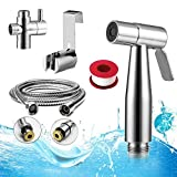 Bidet Handbrause,Yegu Handheld Bidet Spritze aus Messing Edelstahl für Toilette,für optimale persönliche Hygiene,Bidet-Armaturen für WC,Waschen Windel Dusche