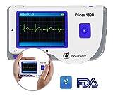 Heal Force Prince 180B EKG-Überwachungsgerät / Monitor, tragbar, mit Software und USB-Kabel