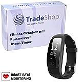 Ultra Slim Smart Bracelet Fitness Armband Puls Herzfrequenz Atem-Überwachung IP67 Wasserresistent...