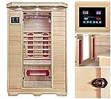 Home Deluxe   Infrarotsauna   Redsun M   Keramikstrahler   inkl. vielen Extras und komplettem Zubehör   verschiedene Varianten