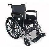 Rollstuhl S220 aus Stahl mit Selbstantrieb - PRIM
