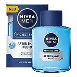 Nivea Men Protect & Care After Shave Fluid, 3er Pack (3 x 100 ml)