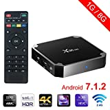 Sawpy X96 Mini Android TV Box Android 7.1 1GB +8GB 4K Smart TV Box 64bit Quad Core CPU with Wifi