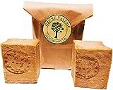 Original Aleppo Seife® 2 x 160g, 80 % Olivenöl 20 % Lorbeeröl, PH Wert 8, Detox Eigenschaften, veganes Naturprodukt - Handarbeit nach jahrtausend altem Traditionsrezept, über 6 Jahre gereift!