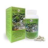 ECHT VITAL ZEOLITH - 1 Dose mit 144 Kapseln - ohne Magnesiumstearat - 100 % mikronisierter Clinoptilolith - Zeolith - zur Entgiftung - zertifiziertes Medizinprodukt
