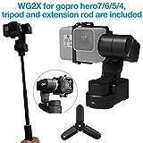 Feiyutech WG2X 3-Axis Wearable Waterproof Gimbal for GoPro Hero 7 Hero 6 Hero 5/GoPro Hero4/Session...