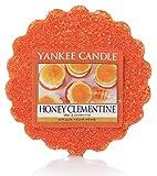 Yankee Candle 1510086E Honig Clementine Duftwachstörtchen zu schmelzen, wachs, orange, 5,7 x 5,7 x 2 cm