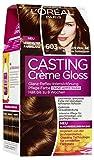 L'Oréal Paris Casting Crème Gloss Glanz-Reflex-Intensivtönung 603 in Chocolate Praliné