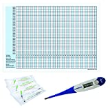 Thermometer Domotherm 0830 Rapid mit 5 Zykluskalendern und 20 One+Step Aide Ovulationstests