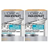 L'Oréal Men Expert After Shave Balsam Hydra Sensitive (2 x 100ml)