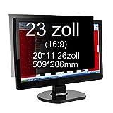 Xianan Widescreen Blickschutzfilter Blickschutzfolie Privacy Screen Folie Blickschutz Sichtschutz...