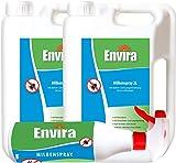 ENVIRA Milben Abwehr-Mittel 2x2Ltr+500ml