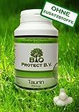Taurin 750 mg Hochdosiert und Rein ohne Füll- und Zusatzstoffe - 120 Kapseln -Aminosäure Taurin- Bio Protect OHNE ZUSATZSTOFFE!